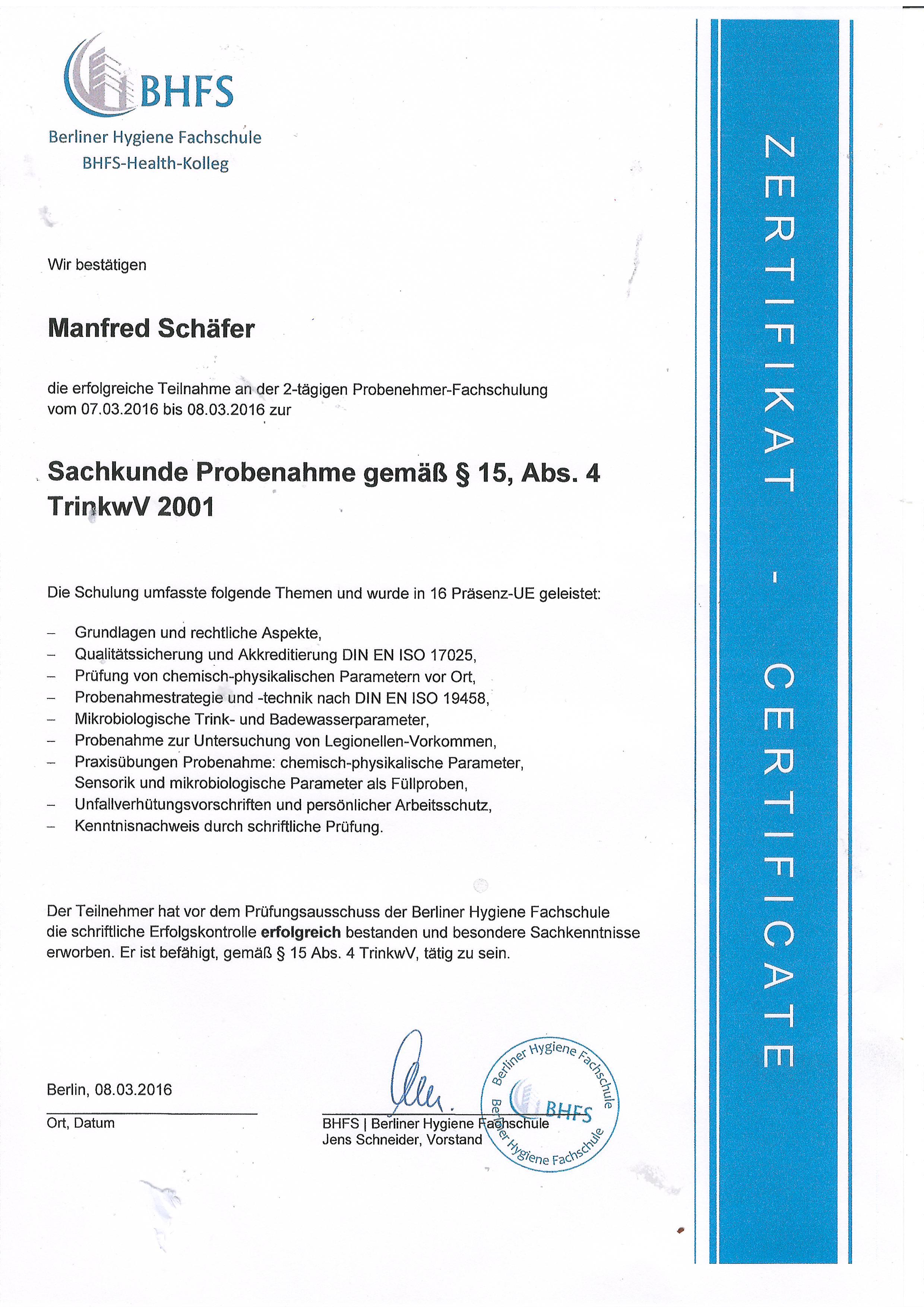 Schön Preis Zertifikat Proben Zeitgenössisch - Bilder für das ...